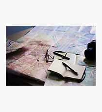 Plan your trip with anticipation Photographic Print