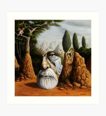 Freud/St. George and the Dragon Art Print