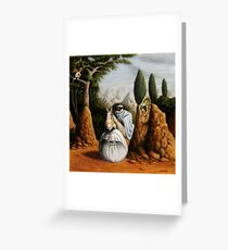 Freud/St. George and the Dragon Greeting Card