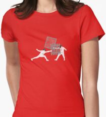 Ghetto Fencing Women's Fitted T-Shirt