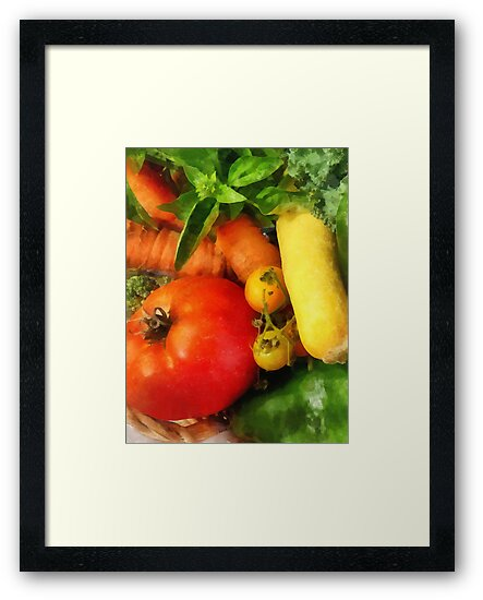 Food - Vegetable Medley by Susan Savad