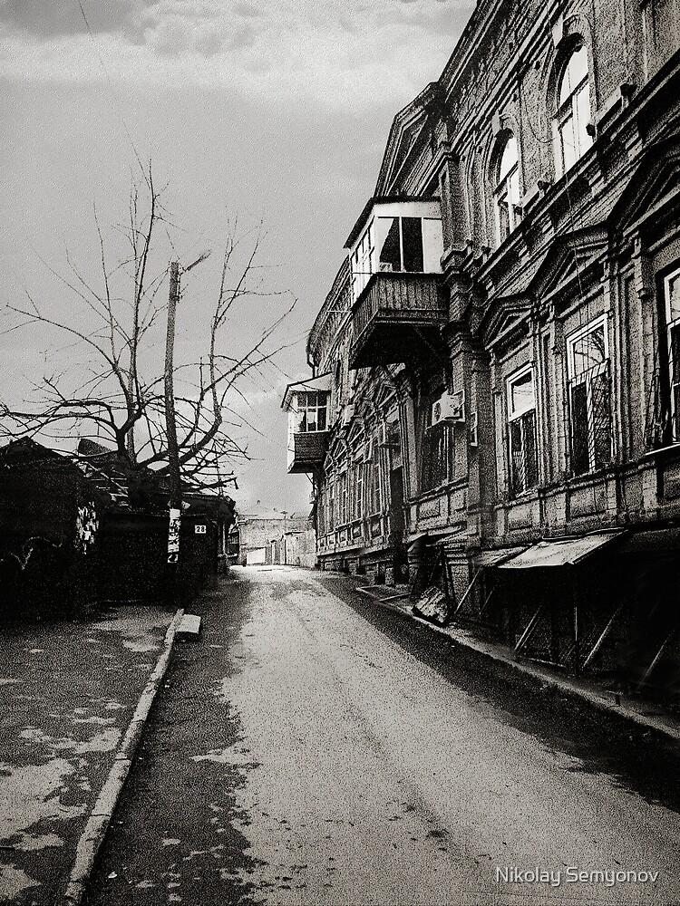 Petrovski Pereulok by Nikolay Semyonov