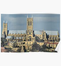 Lincoln Cathederal South Face Poster