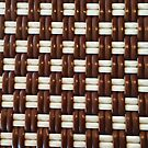 Brown and White Basket Weave by pjwuebker