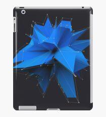 Blue Polygon iPad Case/Skin