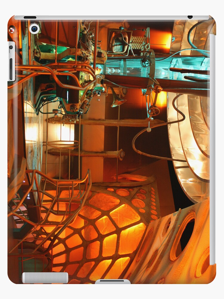 Doctor Who Tardis Interior by Katherine Case