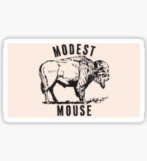 Modest Mouse - Heart Cooks Brain Buffalo Sticker