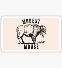 Modest Mouse - Heart Cooks Brain Buffalo Sticker