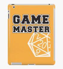 Game Master t-shirt iPad Case/Skin