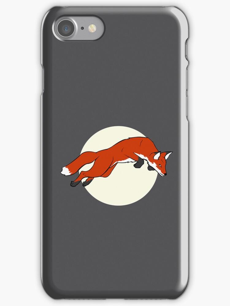 Night Fox Flies over the Moon by Liz McBride