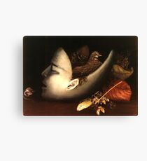 Ecological Head Canvas Print