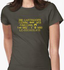 Ammo Can of Plenty +1 Women's Fitted T-Shirt