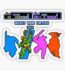 Turtles in Time - Michelangelo Sticker
