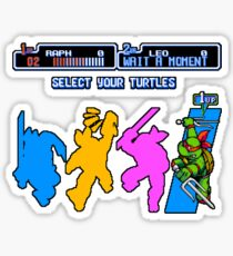 Turtles in Time - Raphael Sticker