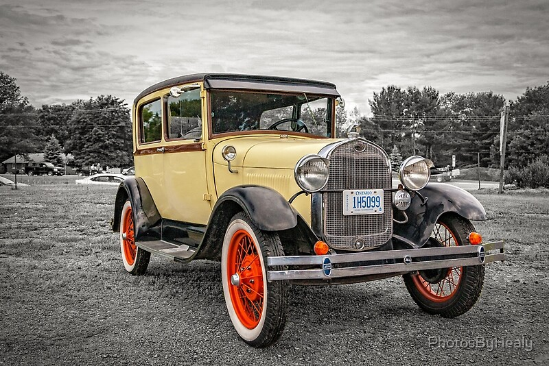 1929 Ford Model A Deluxe Tudor sedan by Photos by Healy