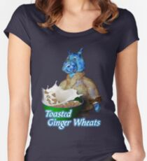 Toasted Ginger Wheats Women's Fitted Scoop T-Shirt