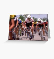 Breaking Away Greeting Card
