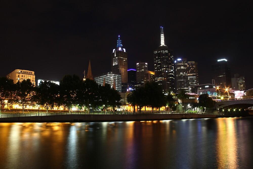 Reflections of Melbourne by Jennifer Saville