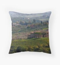 Rolling Tuscany Throw Pillow