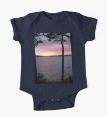 Lake Sunset,-Available As Art Prints-Mugs,Cases,Duvets,T Shirts,Stickers,etc One Piece - Short Sleeve
