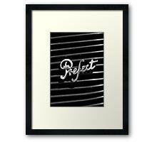 (Ford) Prefect Framed Print