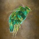 Green Bird - Fractal Art by JBJart