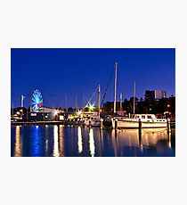 """Evening At The Marina"" Photographic Print"