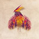 Bird of Paradise Fractal Art by JBJart