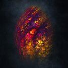 Dragon Egg Fractal Art by JBJart