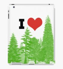I Heart Pine Trees / Forest / Nature iPad Case/Skin