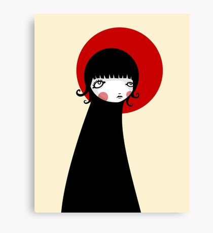 Redd Moon Canvas Print