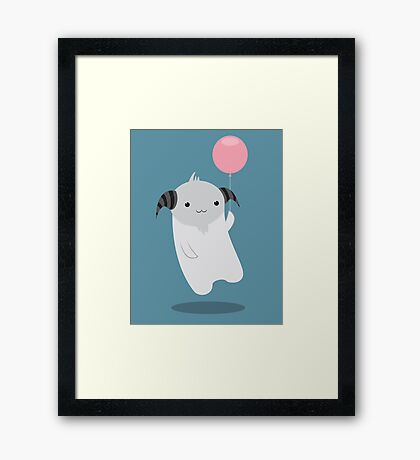 My Little Baloon Framed Print