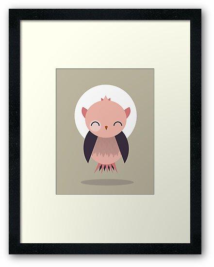 Cute Owl by volkandalyan