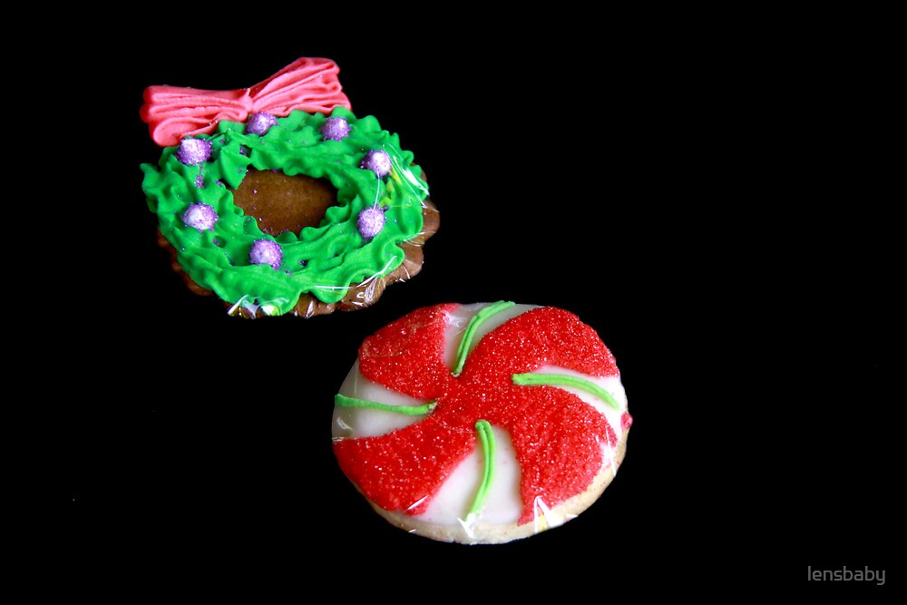 Christmas cookies by lensbaby