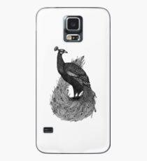 Long Tailed Peacock Case/Skin for Samsung Galaxy