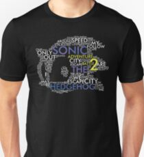 Sonic - City Escape Typography Unisex T-Shirt