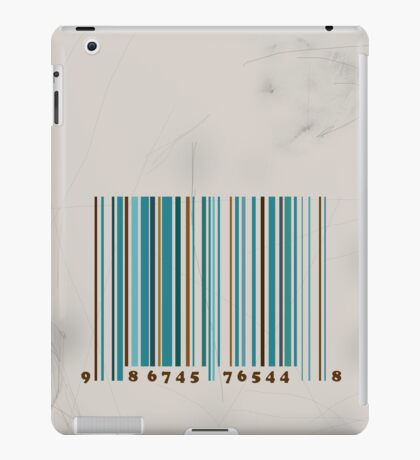 Bar code iPad Case/Skin