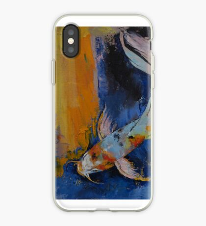 Sanshoku Koi iPhone Case