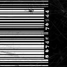 BW bar code by CatchyLittleArt