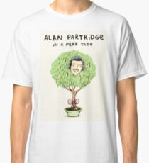Alan Partridge in a Pear Tree Classic T-Shirt