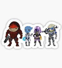 Mass Effect Crew Sticker