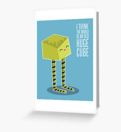 Little Boxy Greeting Card