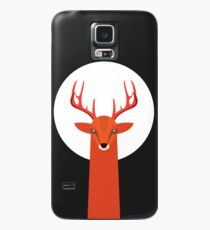 Deer and Moon Case/Skin for Samsung Galaxy