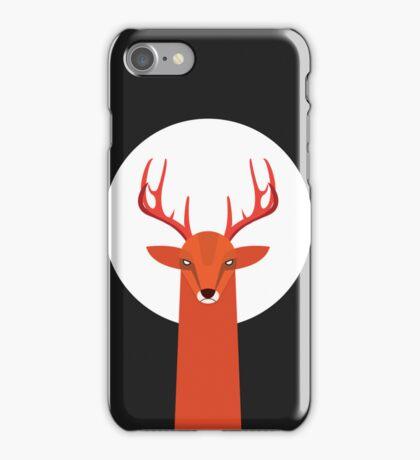 Deer and Moon iPhone Case/Skin