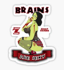 Brains are Sexy Sticker