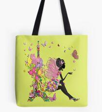 Fashion Girl in Paris Tote Bag