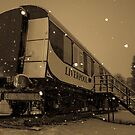 Liverpool Train. In the Snow! by AndrewBerry