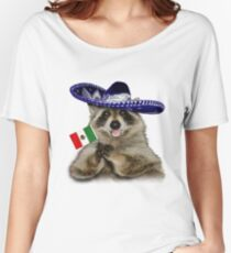 Mexican Raccoon Women's Relaxed Fit T-Shirt