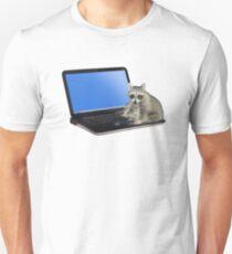 Secretary Raccoon Unisex T-Shirt