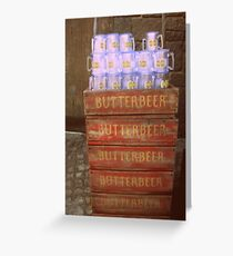 Butterbeer Cargo Greeting Card